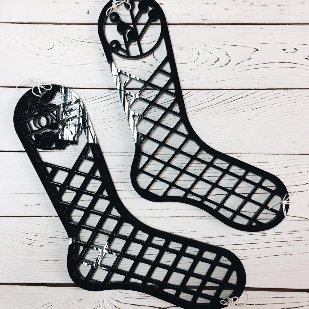 Шаблон для носков своими руками 21